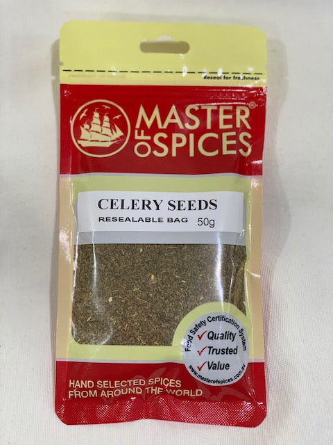 Master of Spices - Celery Seeds 50g