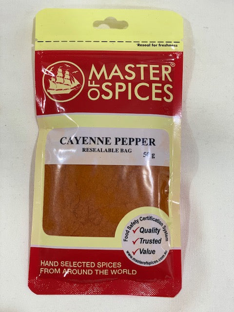 Master of Spices - Ceyenne Pepper 50g