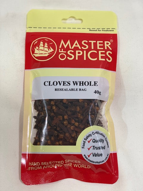 Master of Spices - Cloves Whole 40g