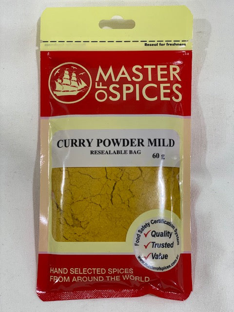 Master of Spices - Curry Powder Mild 60g