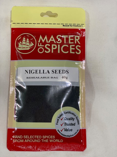 Master of Spices - Nigella Seeds 40g
