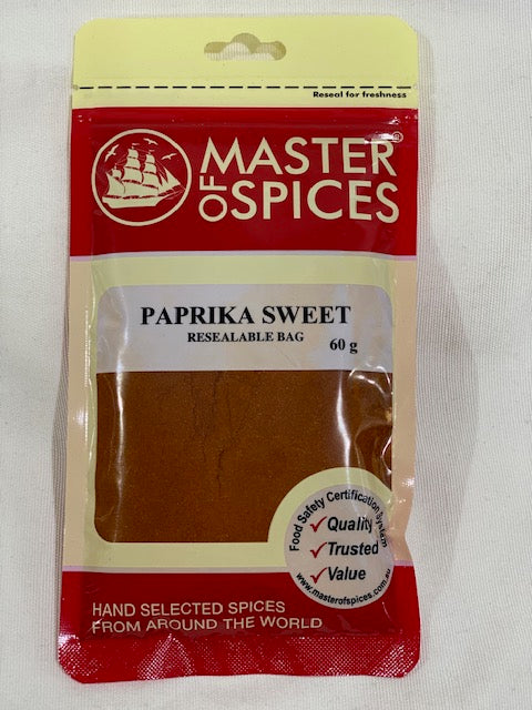 Master of Spices - Paprika Sweet 60g