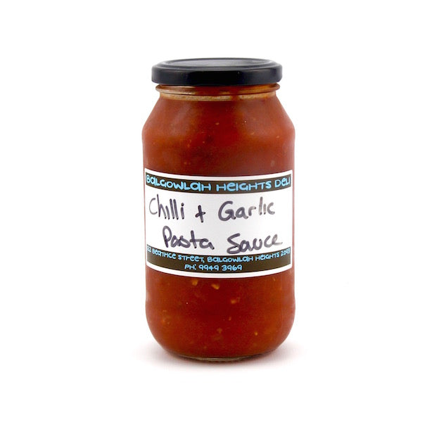 Homemade Tomato, Chilli and Garlic - Pasta Sauce (Jar) approx. 450ml