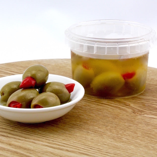 Olives - Stuffed with Chilli - Tub