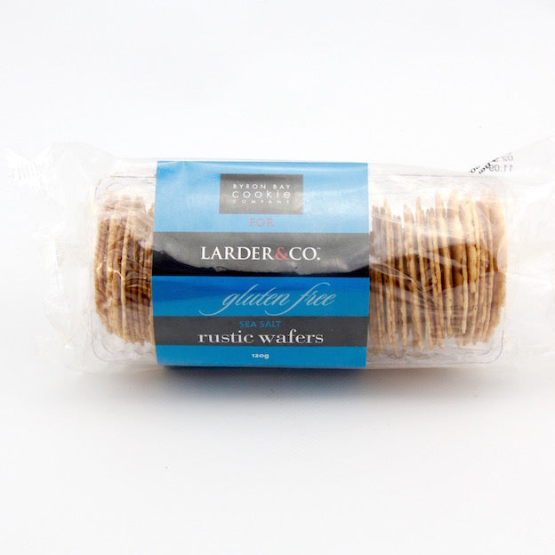 Larder and Co - Rustic Crackers (Gluten Free) 120g
