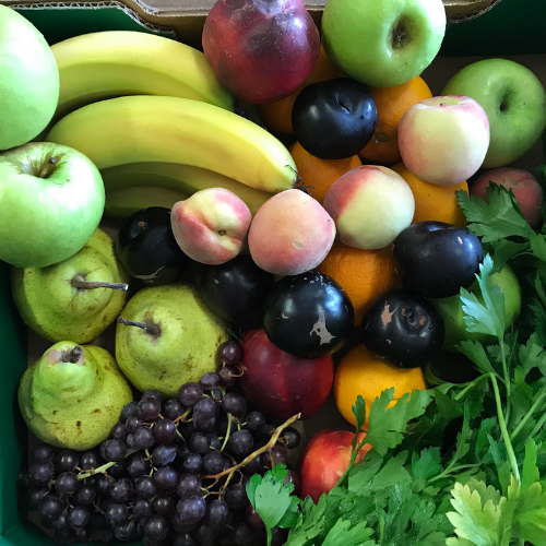 Organic Fruit Box - Med