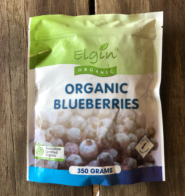 Organic Blueberries - Frozen (350g)