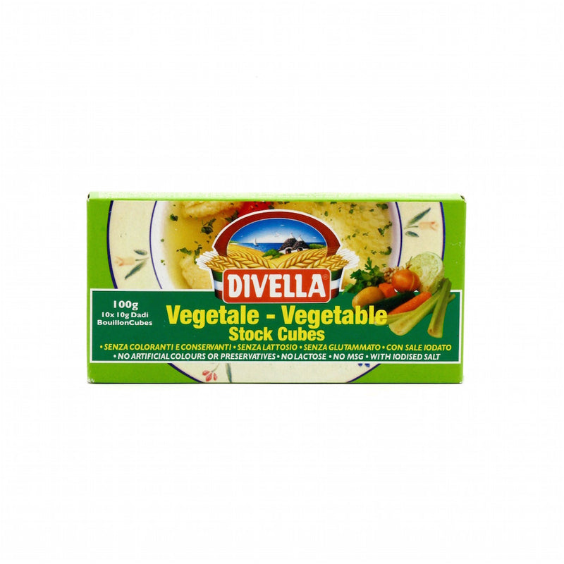 Divella Vegetable Stock Cubes 100g