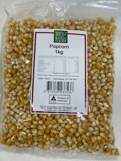 Royal Fields Popcorn 1kg