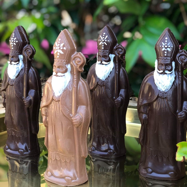 Chocolate Saint Nicholas Figure
