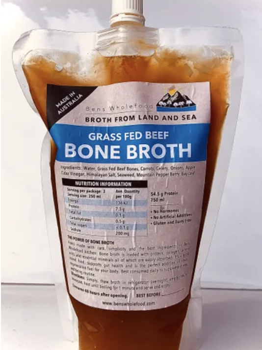 Organic Beef Broth - 750ml