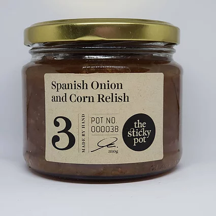 Spanish Onion & Corn Relish 300g