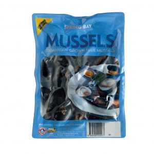Spring Bay Mussels 1kg
