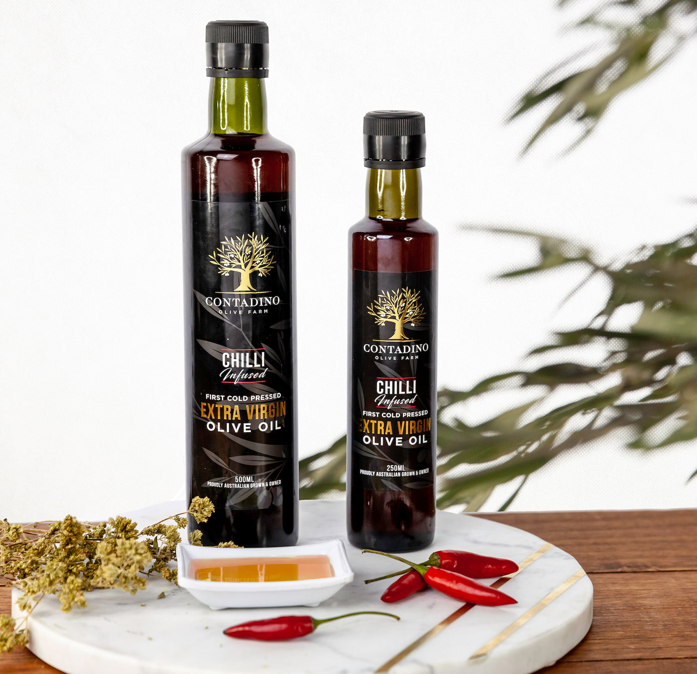 Australian Extra Virgin Olive Oil Chilli Infused - 250ml