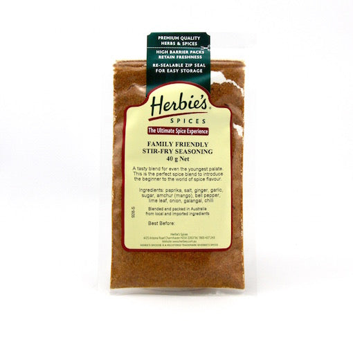 Herbie's Family Friendly Stir-Fry Seasoning - 40g