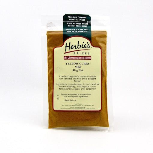 Herbie's Yellow Curry Mild 40g