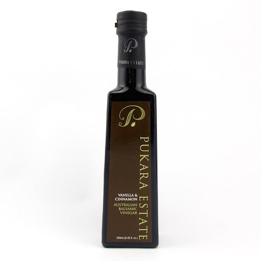 Pukara Estate Vanilla & Cinnamon Balsamic Vinegar - 250g