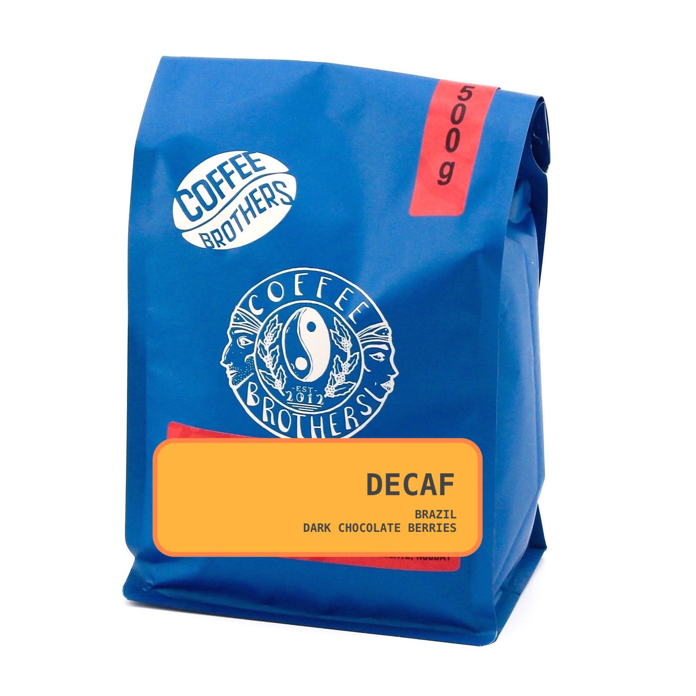 Decaf Coffee - Whole Beans 500g