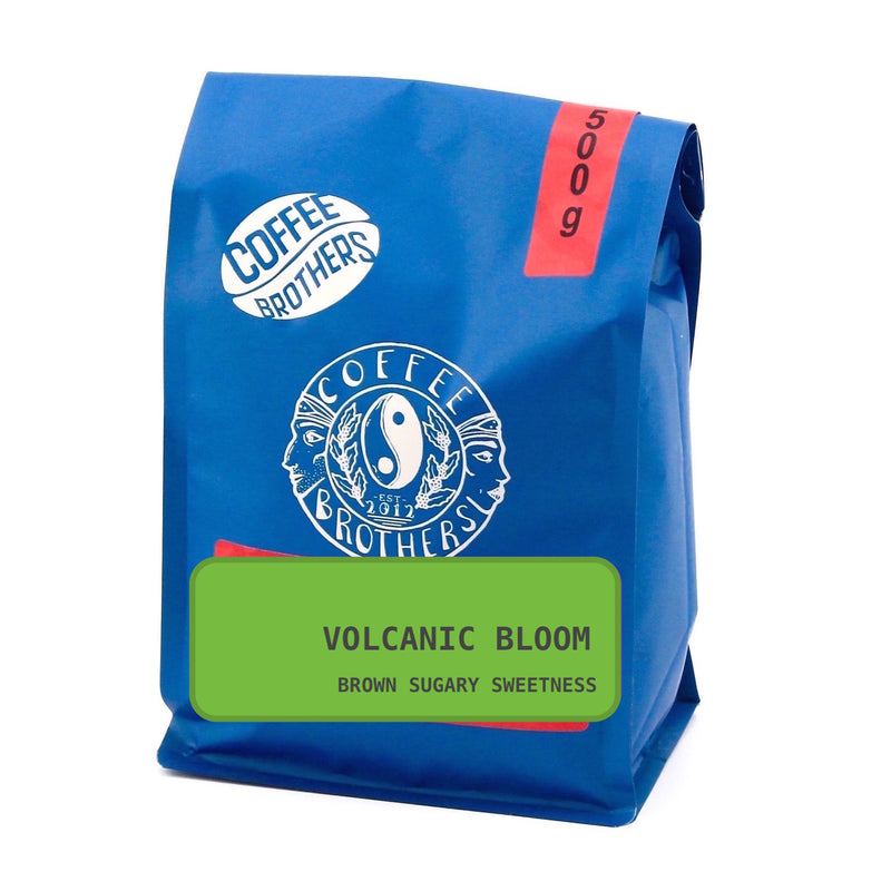 Volcanic Bloom - Ground Beans 500g