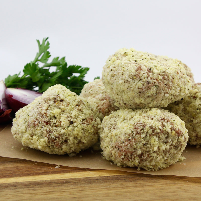 Beef Rissoles (Tray of 8) - approx 1.2kg