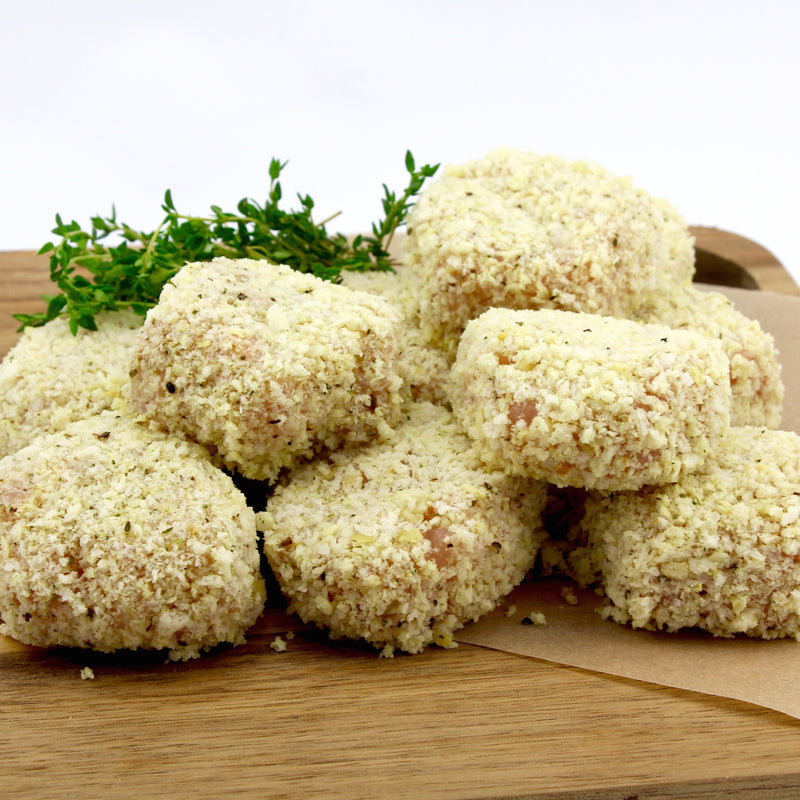 Chicken Rissoles (Tray of 8) - approx. 1.2kg