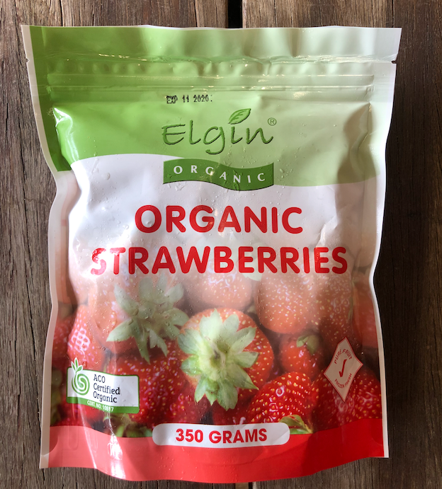 Organic Strawberries - Frozen (350g)