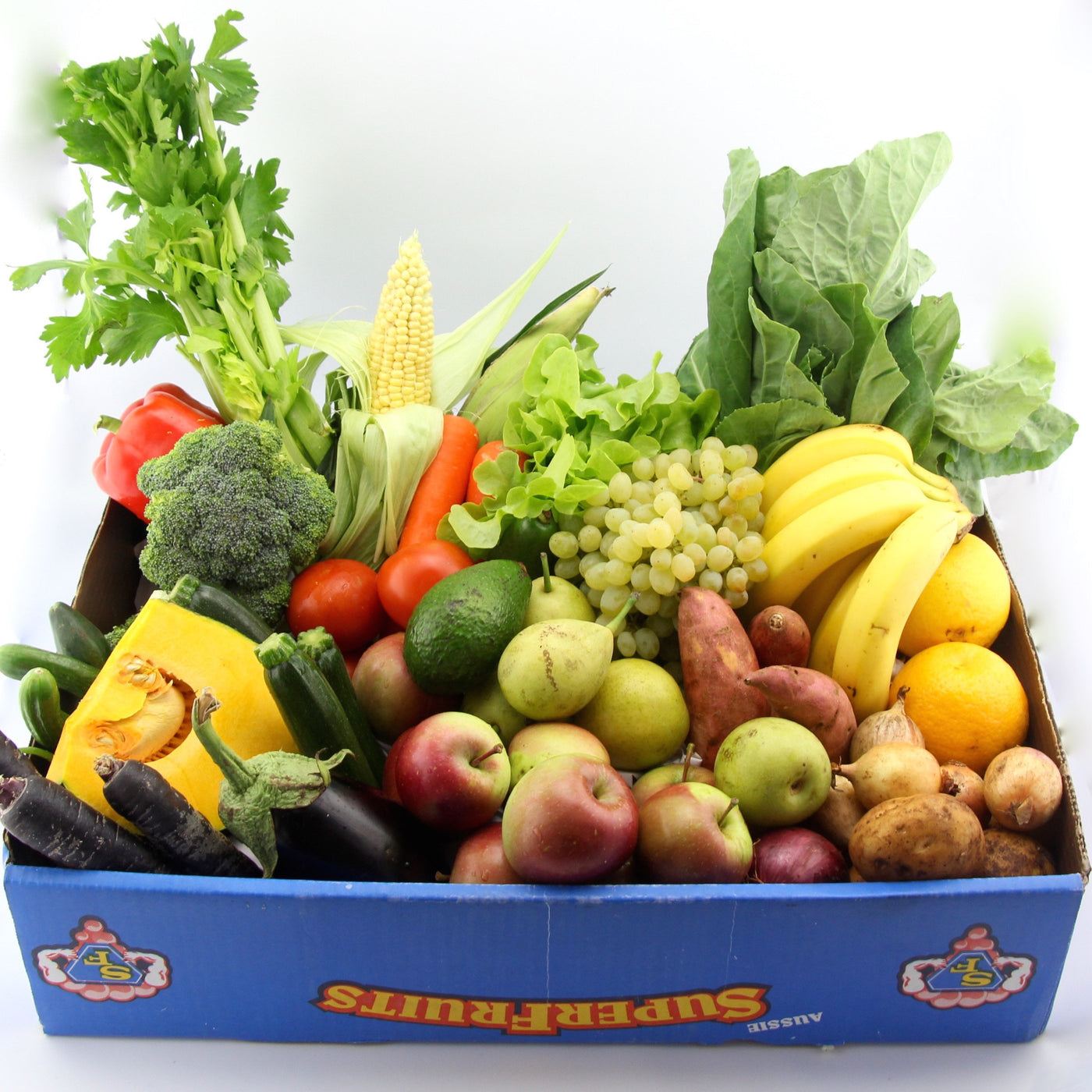 Monday - Organic Fruit & Vegetable Box