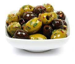Pitted Mixed Marinated Olives - 200g