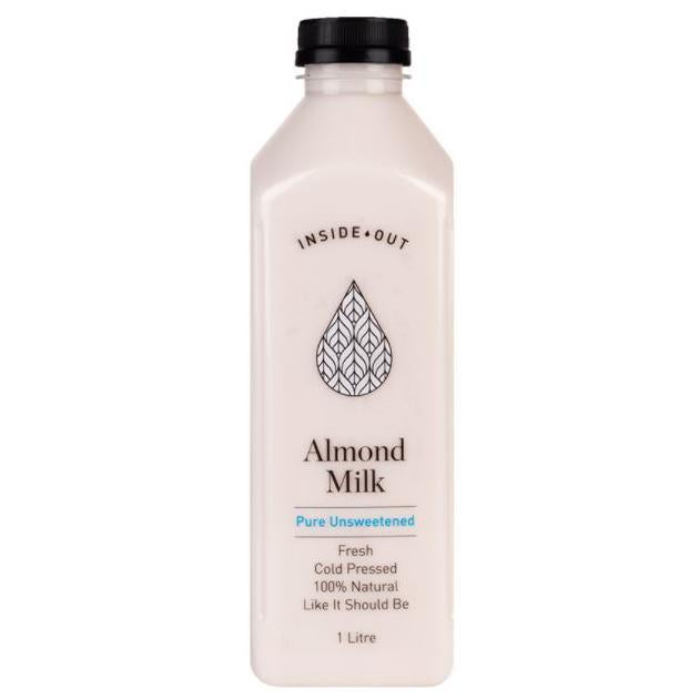 Bottle of 1lt Inside Out - Almond Milk Unsweetened