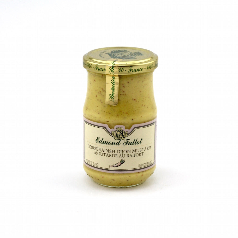 Edmond Fallout Mustards Dijon with Horse Radish 210g