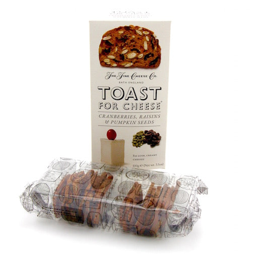 Toast for Cheese - Cranberries, Raisins and Pumpkin Seeds 100g