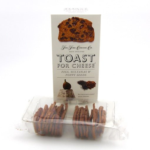 Toast for Cheese - Fig, Sultanas and Poppy Seeds 100g