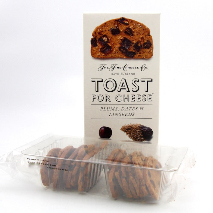 Toast for Cheese - Plums, Dates and Linseeds 100g