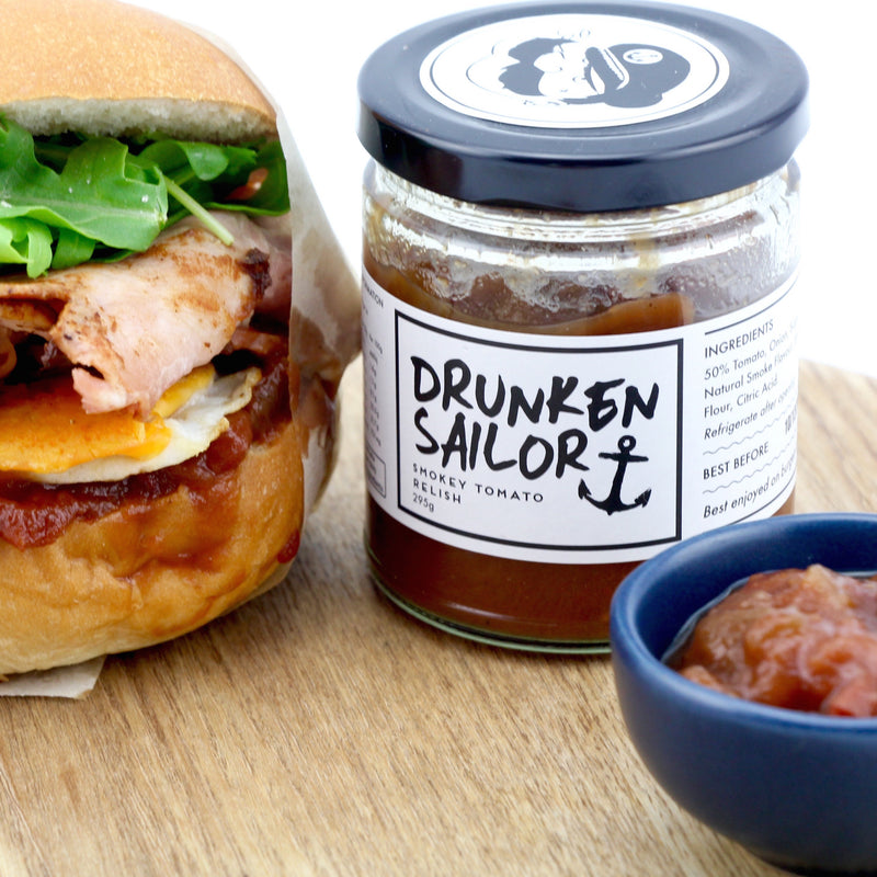 Drunken Sailor Smokey Tomato Relish 295g