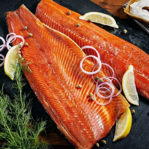 Harris Smokehouse Cold Smoked Ocean Trout - approx 1.5kg