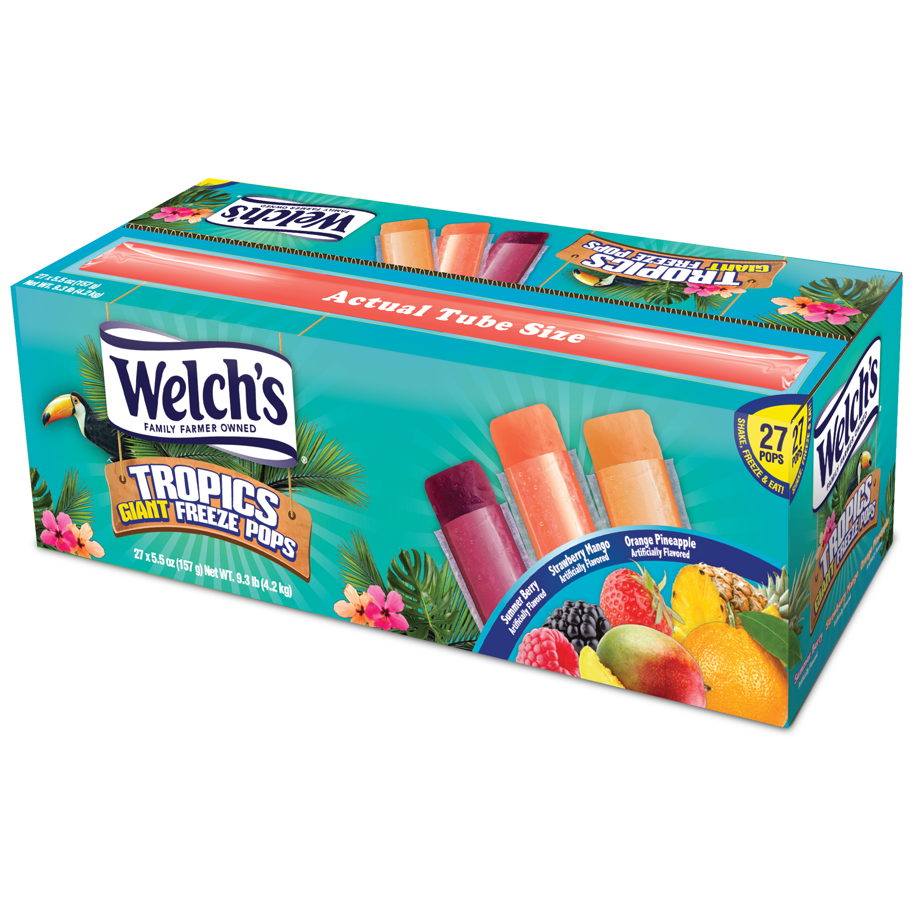 Welch's Tropics Freeze Pops