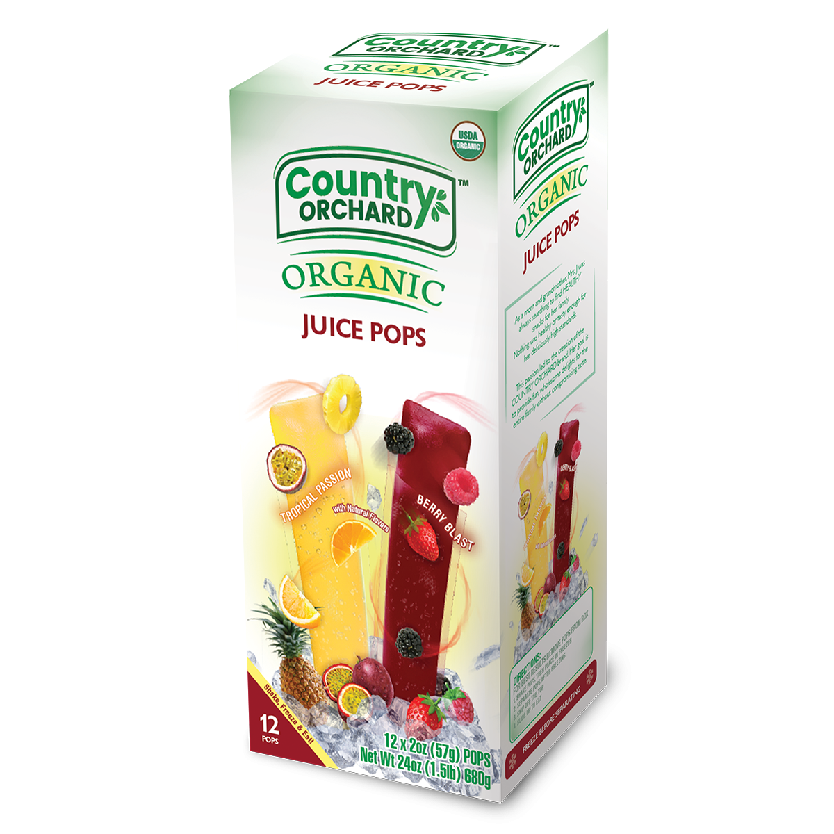 Country Orchard Organic Juice Pops