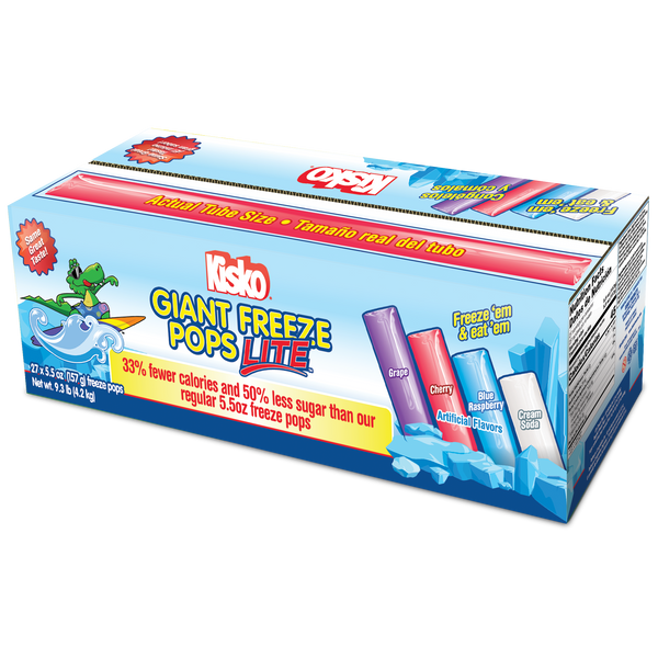 Kisko Lite Giant Freezies