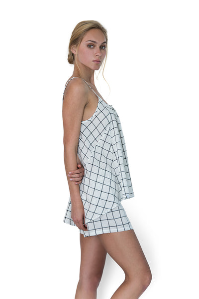 Restore Cami Set Windowpane