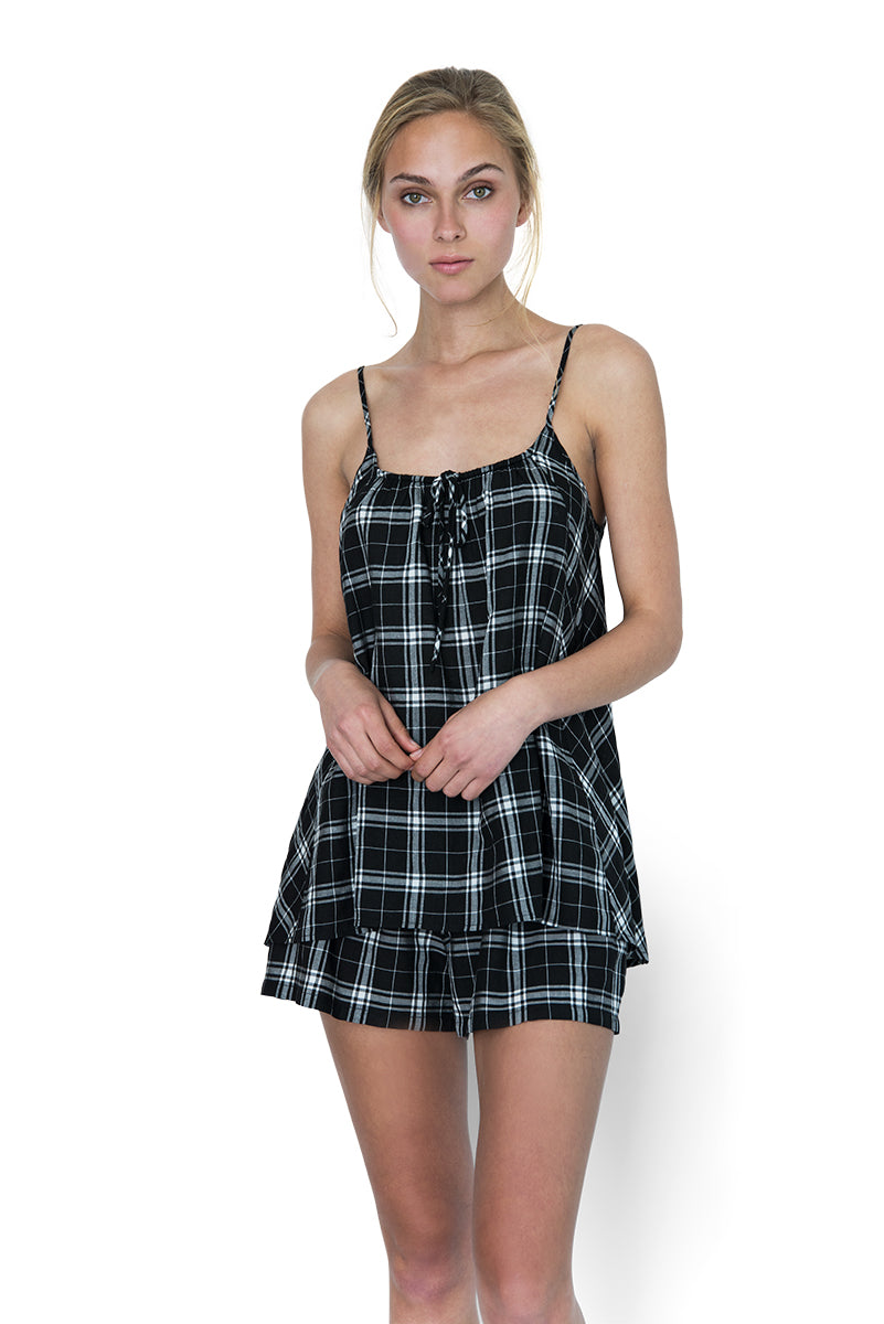 Restore Cami Set Plaid