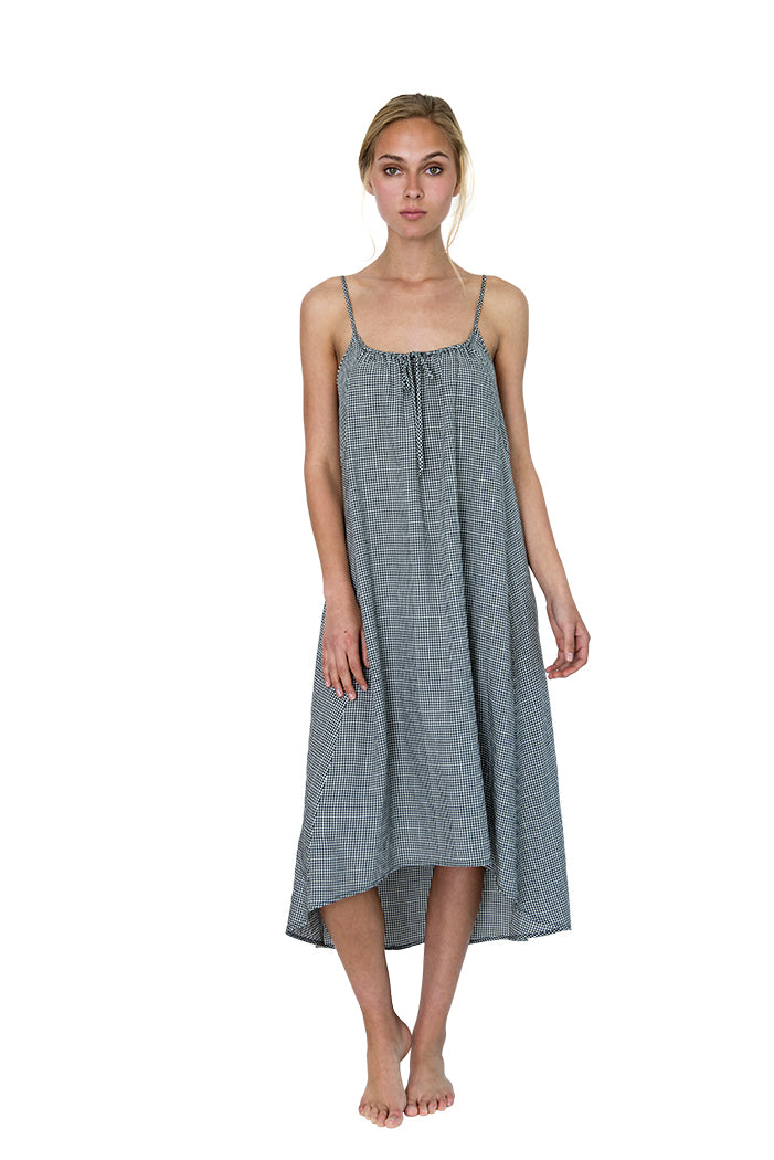 Beckon Sleep Gown Gingham