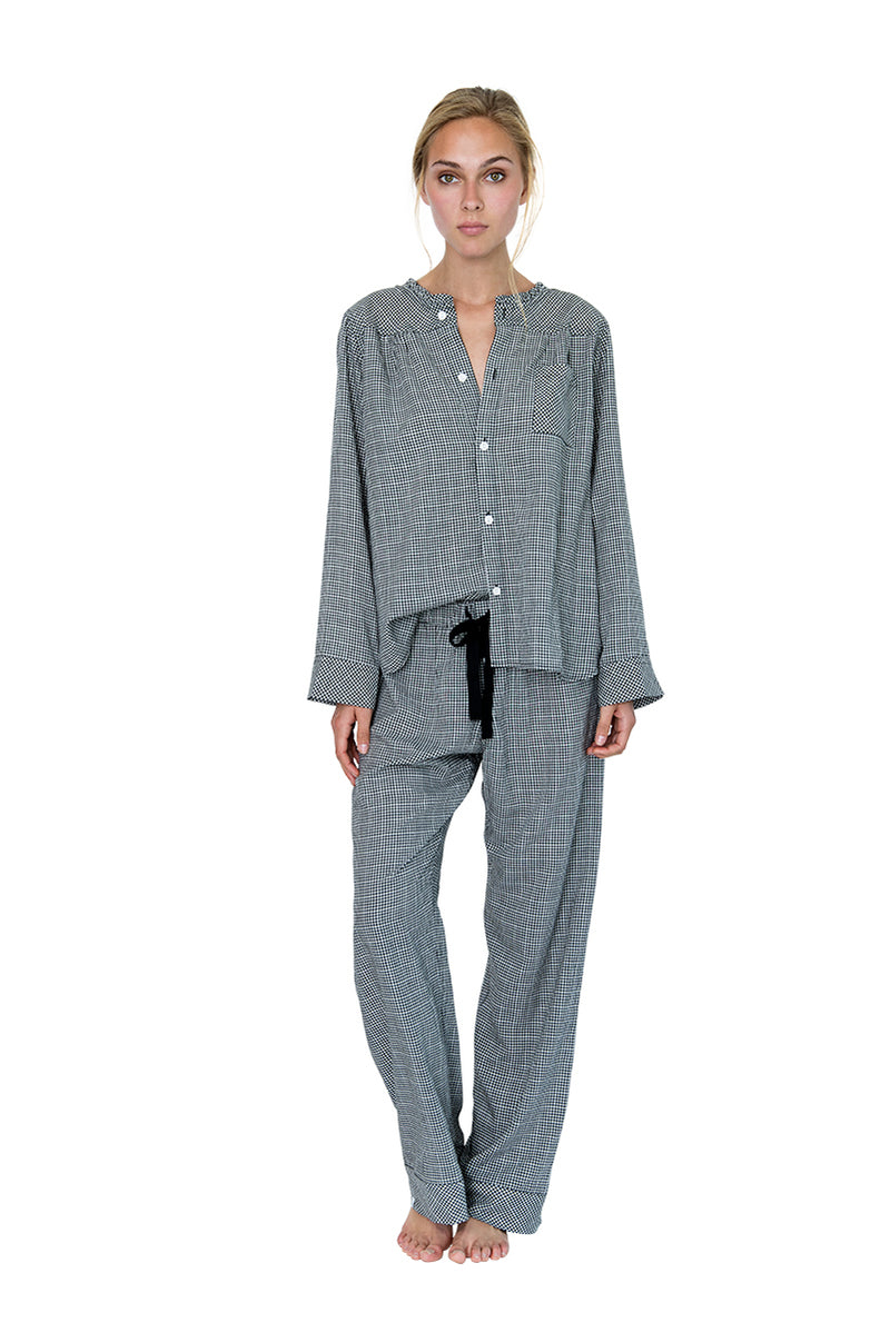 Wander Pajama Set Gingham