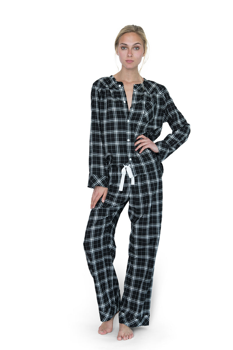 Wander Pajama Set Plaid