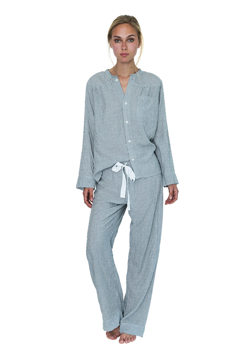 Wander Pajama Set Stripe