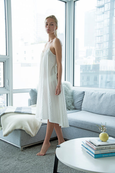 Beckon Sleep Gown Creamy White