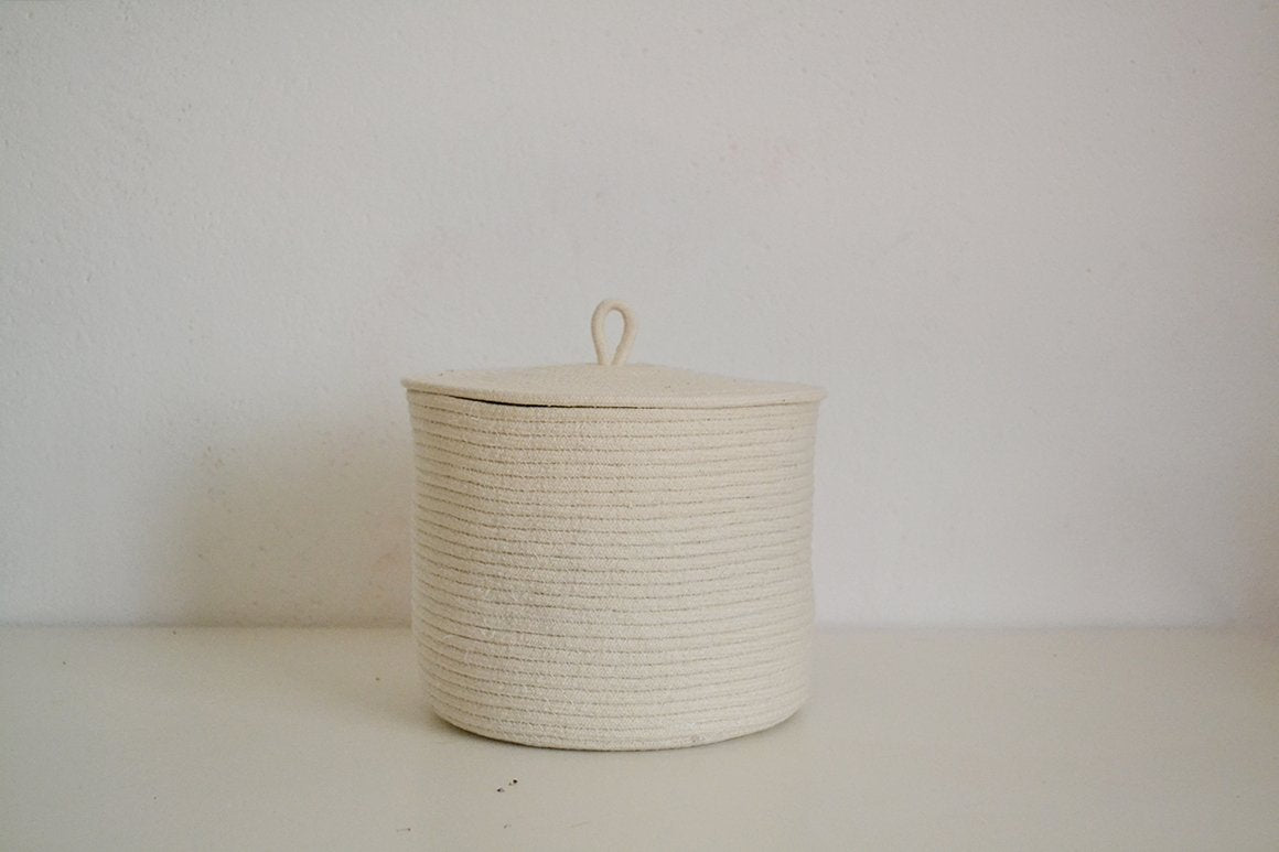 Medium  rope storage basket