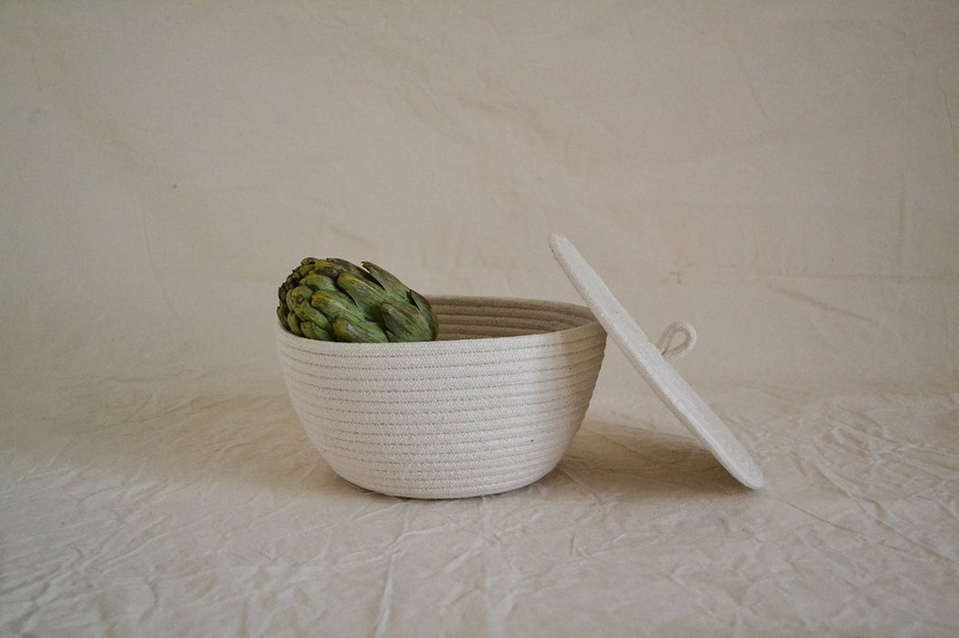 Cotton rope bowl