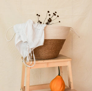 Storage Jute Rope Basket