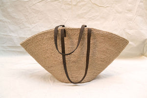 Jute basket bag