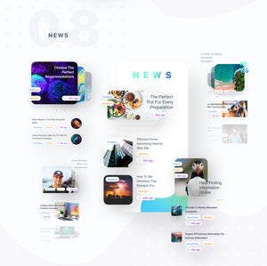 Inspired Mobile Ui Kit - 29element